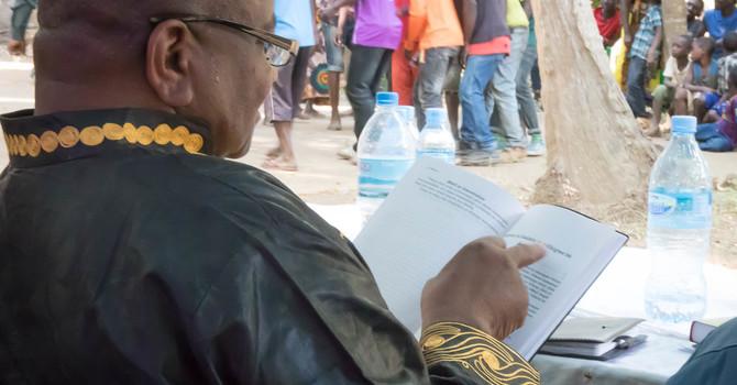 Lundeens Lens: A Tanzanian New Testament Dedication image